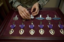 10 American War Heroes Awarded the Most Purple Hearts