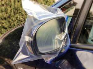 Always Place a Plastic Bag on Your Car Mirror when Traveling Alone, Here's Why